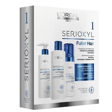 L Oreal Serioxyl l oreal professionnel serioxyl kit 1 for thinning