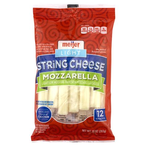 Roundy S String Cheese Nutrition Information Besto Blog Light String Cheese