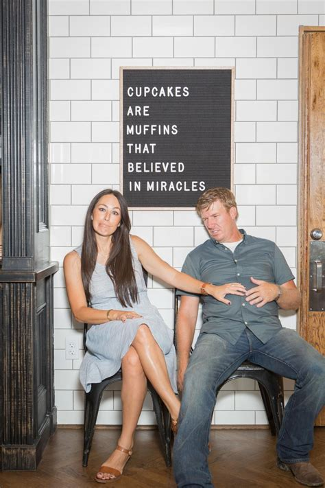 chip and joanna gaines bakery fixer upper sweet surprise at the magnolia silos hgtv s