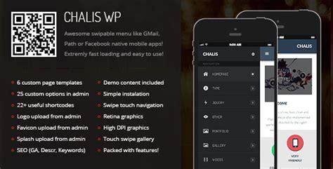 theme wordpress in mobile 20 best mobile wordpress themes 2015 developer s feed