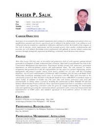 resume format for cabin crew resume of service crew