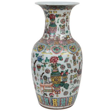 Famille Vase by 19th Century Famille Vase For Sale At 1stdibs