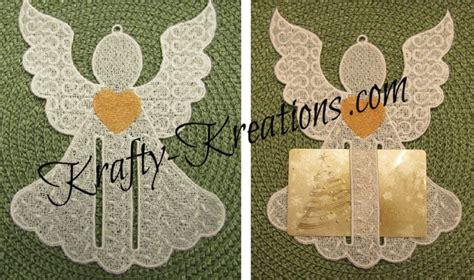 Angels Gift Card - fsl angel gift card holder