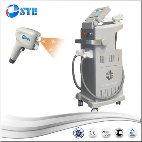 diode laser nd yag 2017 most popular two handpieces nd yag laser removal and 808nm diode laser hair removal