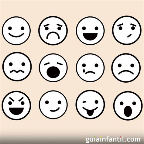imagenes emociones caritas emociones para colorear related keywords