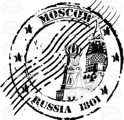 create a rubber st st basil s cathedral moscow russia cancelled rubber