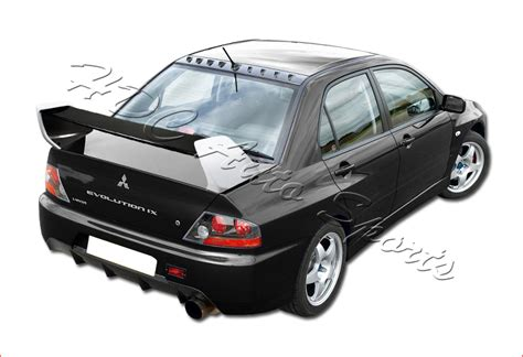 evo 3 spoiler for 2002 2007 mitsubishi lancer evo 7 8 9 carbon fiber