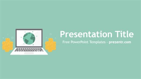 Money Powerpoint Templates Free Free Earning Money Powerpoint Template Prezentr