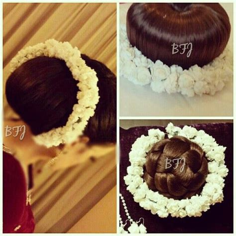 Beautiful artificial hair gajra for the bun. Inspired by