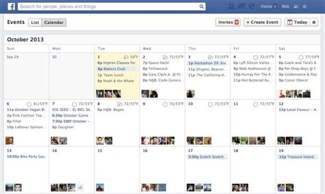 facebook content calendar calendar template 2016