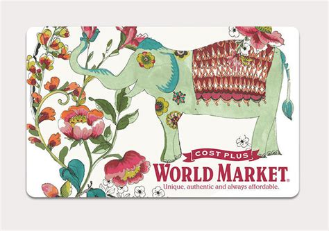 Market Street Gift Cards - win it a 50 gift card to cost plus world market extratv com