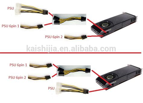 6 Pin Auxiliary Power Supply Connectors by 6 Pin Pci E To Molex 6 Pin Pci Express Power Adapter Cable