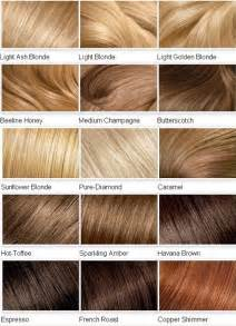 hair color names shades of hair color names dfemale tips