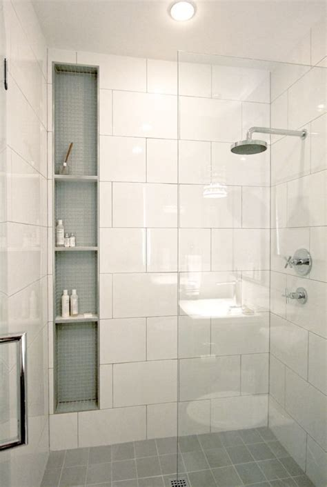 big tiles 41 cool and eye catchy bathroom shower tile ideas digsdigs
