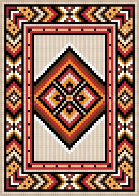 teppich 250 x 350 asian design in the frame for carpet vector colourbox