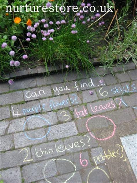 backyard treasure hunt chalk scavenger hunt family crafts