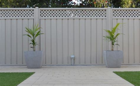 Matching Wall Paint good neighbour fencing adelaide fence installation adelaide