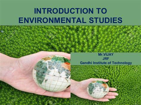 Mba In Environmental Science by Environmental Studies