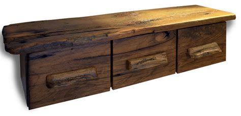 rustic floating bathroom storage shelf rustic bathroom