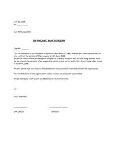 Employee No Longer With Company Letter Sle experience certificate format hr letter formats