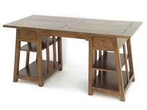 bureau bois massif pas cher mzaol