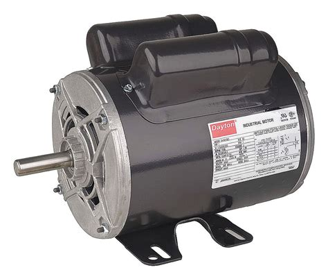 purpose of capacitor in fan motor dayton 1 2 hp general purpose motor capacitor start run 3450 nameplate rpm voltage 115 208