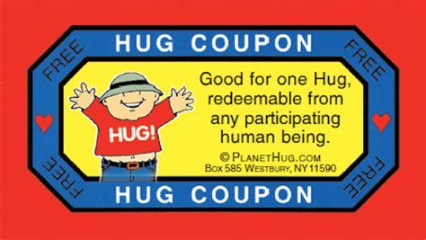 printable free hug coupons hug coupon clipart clipart suggest