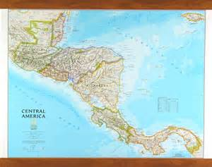 national geographic america map central america map by national geographic