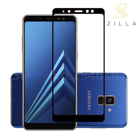 Zilla Tempered Glass 0 26mm For Samsung Galaxy Promo zilla 2 5d tempered glass cover 9h 0 26mm for samsung galaxy a8 plus 2018 black