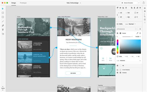 Adobe Xd Download And Updates Adobe Xd For Mac Windows Ios And Android Digital Arts Adobe Xd Templates Ios