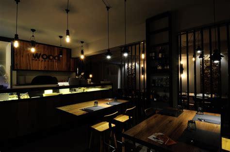 naldi illuminazione ristorante wood naldi illuminazione