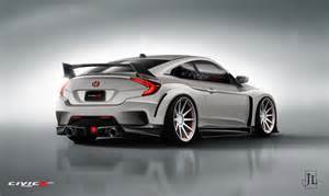 honda civic coupe type r render by civicx 02 car24news
