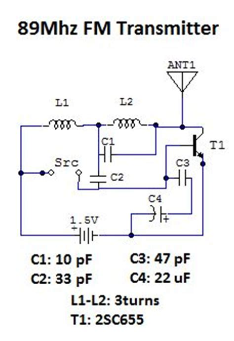 reactance transistor fm transmitter 1 transistor fm transmitter 28 images make a 1 5v single transistor fm transmitter am fm