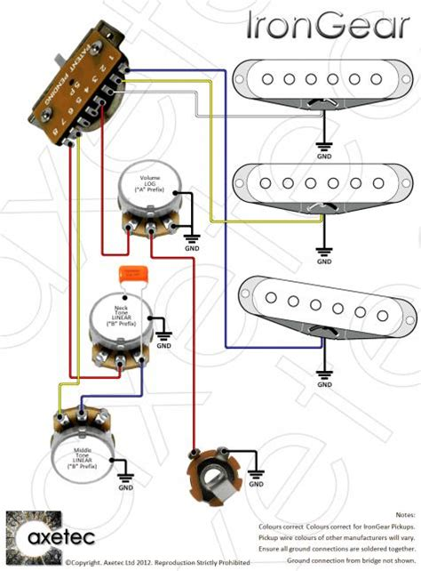 stratocaster wiring diagram import switch circuit and