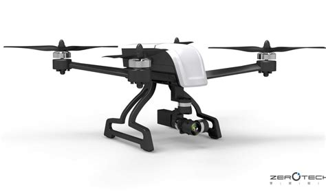 Drone Zerotech zerotech debuts the most compact 4k drone that carries