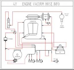 hilux vacuum hoses setup