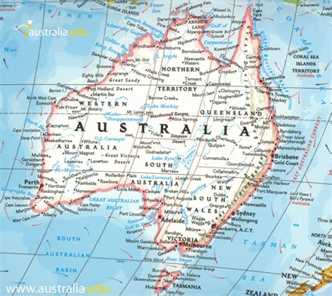 printable australian road maps detailed maps of australia