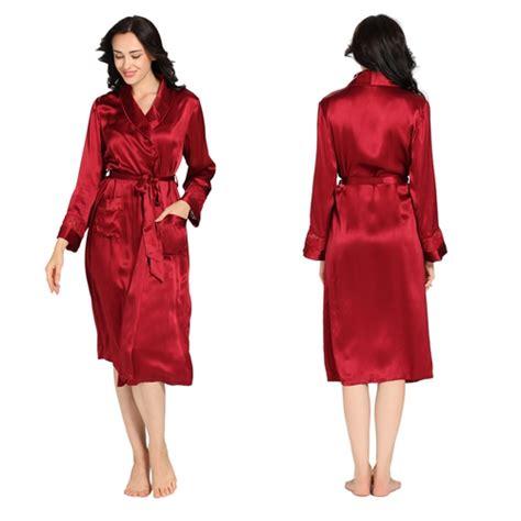 robe de chambre en soie robe 224 la mode robe de chambre femme soie