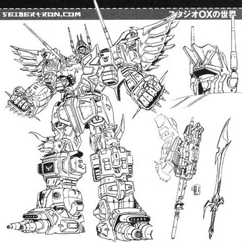 Kaos Transformer Optimus Prime 04 unique toys war lord beasticons not predaking page 201