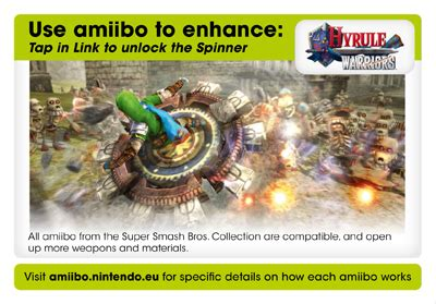 Wii U Hyrule Warriors Amiibo R1 hyrule warriors wii u zavvi