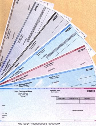 What Is Checked On A Background Check Preprinted Checks For Accounting And Payroll Software Box Of 500 Checks