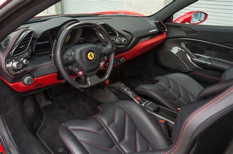 ferrari  gtb front interior detail motortrend