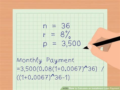 housing loan installment calculator 3 ways to calculate an installment loan payment wikihow