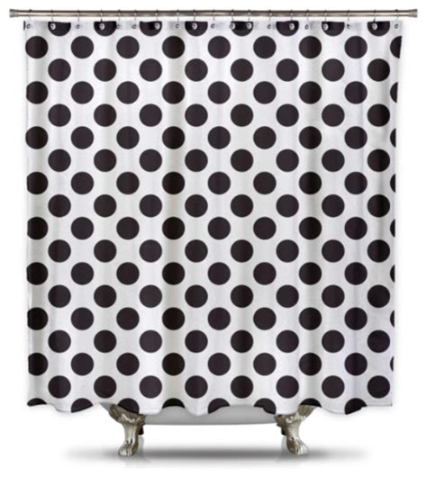 black and white polka dot curtain panels white with black polka dot shower curtain curtain