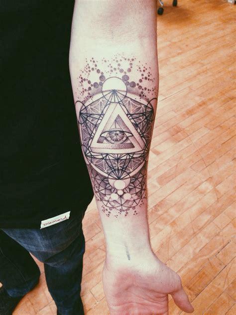 Geometric Tattoo Là Gì | sacred geometry by brendan rowe from memoir tattoo in la