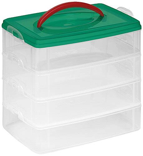 snapware snap n stack square 3 tier seasonal ornament storage container 13 by 13 inch snap n stack seasonal 4 6 quot x9 quot rectangle 2 5 quot l 6 pet bed cat beds and beds on sale