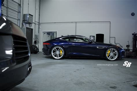 jaguar f type custom jaguar f type custom wheels pur rs07 21x9 0 et tire