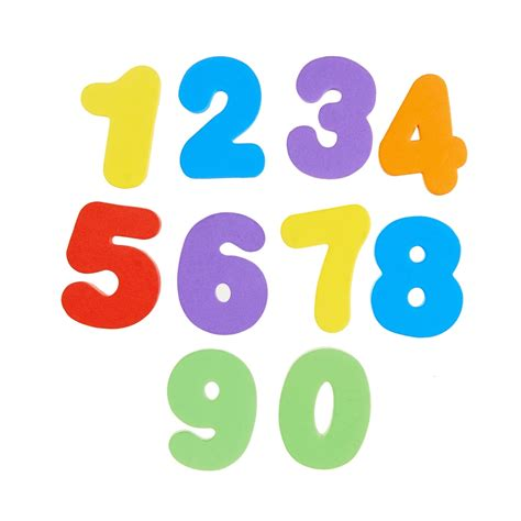 number 3 bathroom learn bath letters numbers primary 36 count