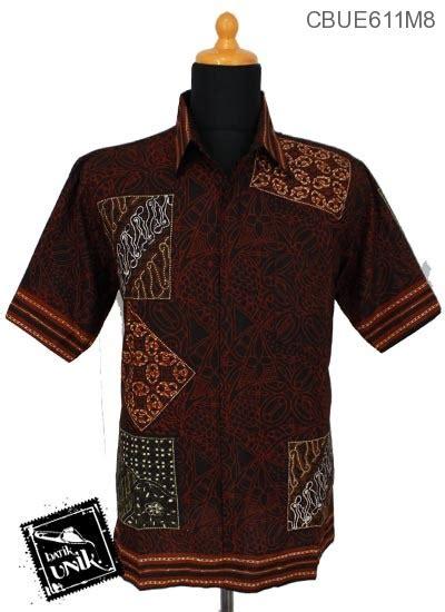 Kemeja Batik Anak Kotak kemeja batik ekslusive motif kotak batik kemeja lengan pendek murah batikunik