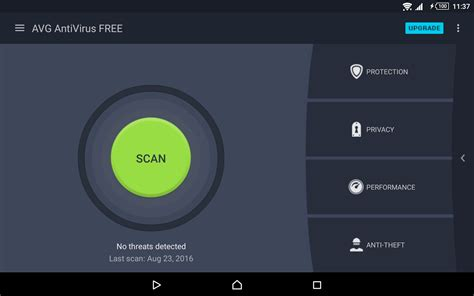free antivirus for android tablet avg antivirus free for android android apps on play